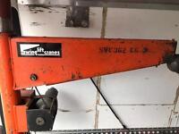 Crane winch 12v