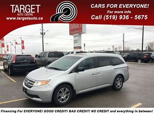 2011 Honda Odyssey EX, Power Sliding, DVD, Very Clean and More !