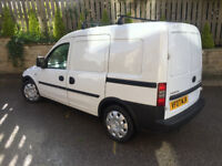 £7.5phh Small Combo Van with Driver for Hire