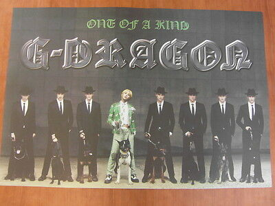 G-DRAGON - One Of A Kind [OFFICIAL] POSTER K-POP *NEW* BIGBANG