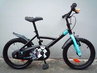"(2142) 16"" 10.5"" B'TWIN PIRABIKE Boys Girls Kids Childs Bike Bicycle; Age: 4-6; Height: 105-120 cm"