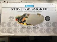 Stovetop Smoker, unused in original packaging, for indoor & outdoor use