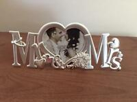Brand New Mr & Mrs Photo Frame