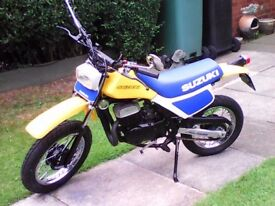 suzuki 80 cc road or dirt bike bike.may class as monkey bike.