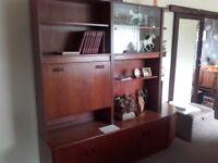G - Plan 60 / 70's retro teak living room and bedroom furniture.