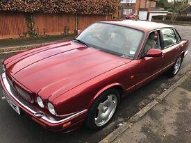 Jaguar XJR 3980cc Petrol Supercharged Automatic 4 door saloon M Reg 17/03/1995 Red