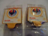 Kodak printer ink cartridges - 2 unopened original Kodak 10 cartridges