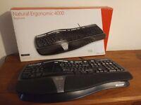 2 x Ergonomic keyboards. One unused. Other like new.