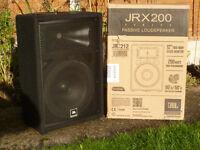JBL JRX 212M Passive Monitor
