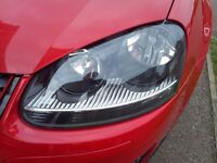 Headlights restoration service. ..do you want brand new headlights? Call me anytime.