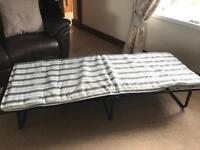 Jay-Be folding camp bed with cover
