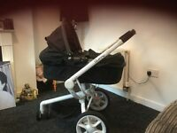 Quinny mood pushchair & carrycot