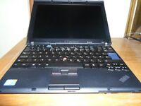 Lenovo ThinkPad X201 Intel i5 - M520 2.4GHz 4 GB RAM 250 GB HDD Webcam