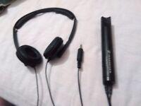 Sennheiser PXC 250 noise cancelling head phones