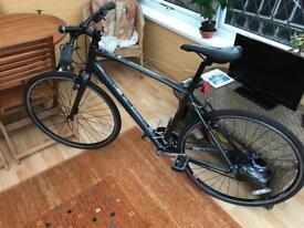 Brilliant Saracen urban ecs road bike 20 in alloy frame vgc
