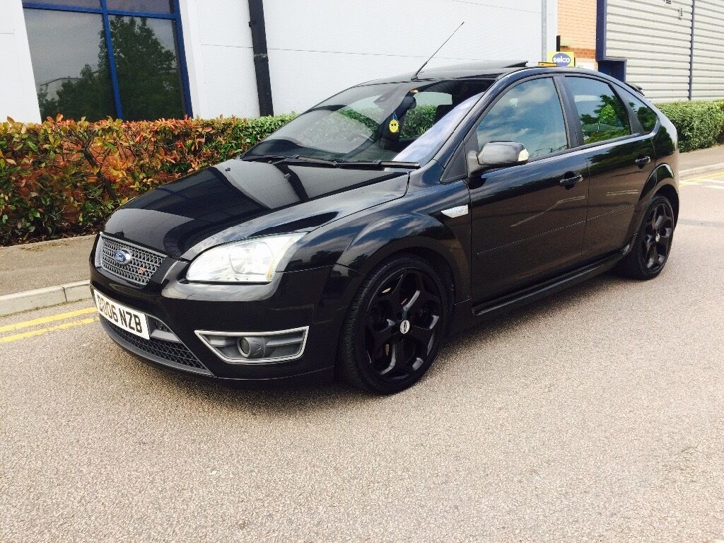 2006 06 ford focus st2 black full ford service history sunroof very rare long mot in. Black Bedroom Furniture Sets. Home Design Ideas