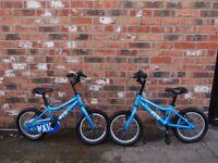 Two children's bikes (boys)