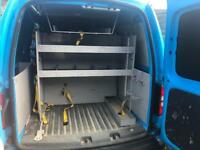 Van Shelves / Racking from Ex British Gas VW Caddy