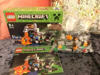 MINECRAFT LEGO, THE CAVE 21113