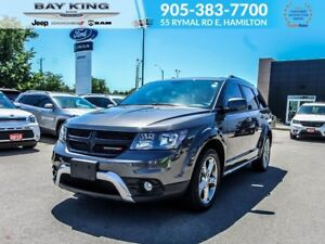 2016 Dodge Journey CROSSROAD AWD, REAR DVD, GPS NAV, SUNROOF, 7