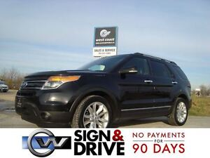 2012 Ford Explorer Limited AWD *NAV/LEATHER/REAR CAPTAIN CHAIRS*