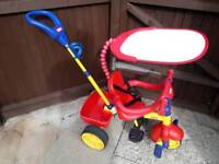 Little Tikes Trike With Parent Handle And Sun Shade