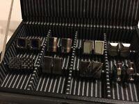 16 pairs of men's cuff links