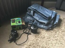 12v leisure inflator electric pump x 2