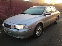 Quick sale Volvo s80 D5 2.4 Diesel Auto 2003 saloon, offers or swaps for Jaguar S type only