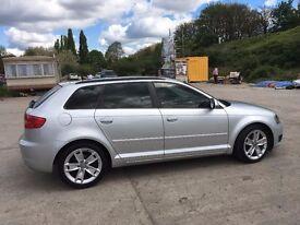 Audi A3 TDI (Diesel) 2009, 83 000 miles, Full service history, new tyres MOT until 07/03/18