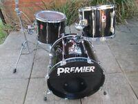 Drums - Premier APK Fusion Size Drum Kit - 3 Piece - Early 90's