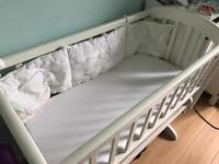 New Born Gliding Bed, used 2 months, still new !