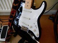 "Fender Eric Clapton ""Blackie"" Strat."
