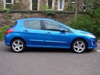 EXCELLENT EXAMPLE!!! 2008 PEUGEOT 308 1.6 VTi SPORT 5dr, FSH, 1 YEAR MOT, WARRANTY