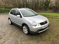 Volkswagen Polo Dune 1.4 diesel 2005, long MOT, low mileage, 2 keys, 1 owner, VERY ECONOMICAL!!
