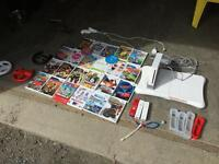 Wii entertainment system with over 20 games!