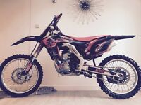 CRF 250 2015 Carbon addition