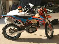 Ktm 350 excf 6 days , road reg, 12months mot