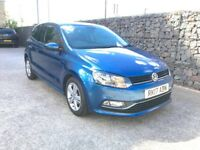 2017 VolksWagen Polo Tech, Automatic gearbox, Low miles, Navigation, Parking sensors