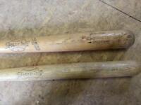 2x antique / vintage Spalding baseball bats