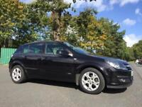 VAUXHALL ASTRA SXI*ONLY 77K*PANTHER BLACK*LOW INS*PRISTINE*BARGAIN!focus,corsa,clio,fiesta,c4