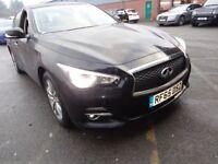 INFINITI Q50 2.2 CDI PREMIUM 4DR AUTO (black) 2015