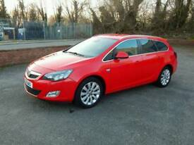 VAUXHALL ASTRA 2012 ONE YEAR MOT