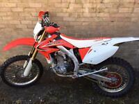 Crfx 450 2013