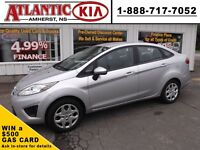 2012 Ford Fiesta SLEEK SILVER RIDE