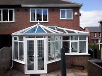 ALL UPVC CLEANING, GUTTERS + FASIAS, WINDOWS, DOORS, CONSERVATORYS ETC..