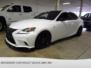 2014 Lexus IS IS F SPORT * AWD * NAVIGATION * TOIT OUVRANT