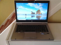 HP Elitebook 8460p i5 Laptop Windows 10 Professional