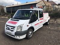 Ready for work Recovery Truck Diesel