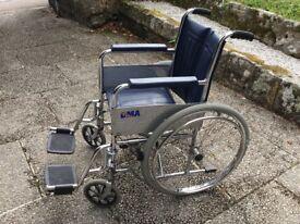 Wheel chair, self propelling